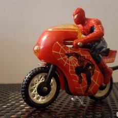 Motos a escala: JUGUETE - SPIDER-MAN BIKE - BUDDY L - MOTOCICLETA. Lote 117002226