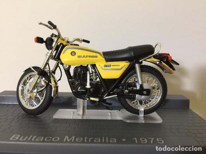 bultaco Metralla 1975 Gelb 1//24 Altaya By ixo Modellmotorrad Modell Motorrad Son