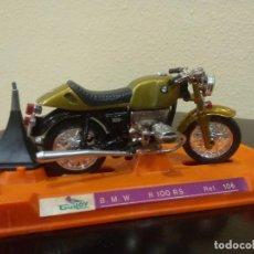 Motos a escala: MOTO BMW R100RS (MODELO SIN CARENADO) DE GUILOY -ESCALA 1:18-. Lote 117928071
