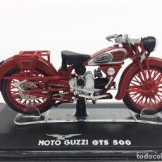 Motos a escala: STARLINE 1:24 MOTO GUZZI GTS 500 DIECAST MODELS MOTORCYCLE BIKE. Lote 119696215