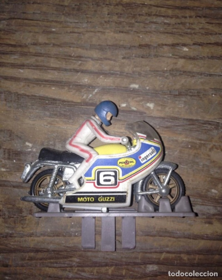 MOTO GUISVAL 1980 ORIGINAL (Juguetes - Motos a Escala)