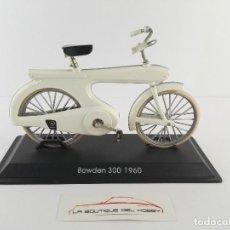 Motos a escala: BICICLETA BOWDEN 300 1960 DEL PRADO ESCALA 1:15. Lote 120503539