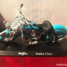 Motos a escala: MOTO INDIAN CHIEF MAISTO. Lote 120583867
