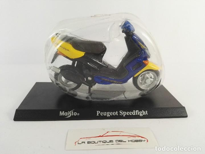 PEUGEOT SPEEDFIGHT MAISTO ESCALA 1:18 (Juguetes - Motos a Escala)