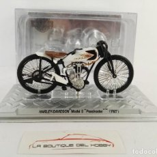 Motos a escala: HARLEY DAVIDSON MODEL S PASHOOTER 1927 ALTAYA ESCALA 1:24 DEFECTUOSA. Lote 121264691