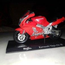 Motos a escala: MOTO ESCALA 1:18 KAWASAKI NINJA ZX 7R. Lote 121678787