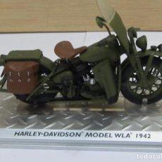 Motos a escala: MOTO A ESCALA - HARLEY DAVIDSON MODEL WLA 1942. Lote 121767643