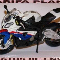 Motos a escala: MOTO BMW S 1000 RR ESCALA 1:12 DE MAISTO EN SU BLISTER . Lote 121911963