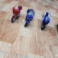 Motos a escala: LOTE 4 MOTOS MAISTO. Lote 122020047