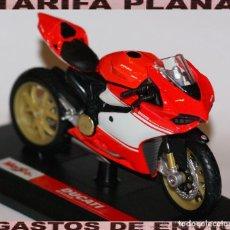 Motos a escala: MOTO DUCATI 1199 SUPERLEGGERA ESCALA 1:18 DE MAISTO EN SU CAJA. Lote 125344663
