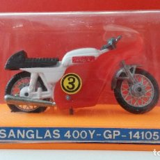Motos a escala: MOTO SANGLAS 400Y GP - 141058, EN CAJA GUILOY. Lote 125899499