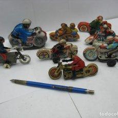 Motos a escala - lote motos miniatura hojalata diferentes epocas - 128273199