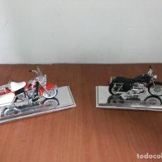Motos a escala: DOS PRECIOSAS HARLEY DAVIDSON,MAISTO. Lote 128443422