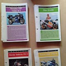Motos a escala: FICHAS COLECCION SUPER MOTOS. Lote 130663455