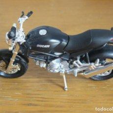 Motos a escala: 1/18 MAISTO MOTO DUCATI MONSTERDARK. Lote 131837270