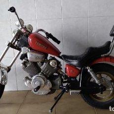Motos a escala: JUGUETE MOTO A BATERÍA YAMAHA VIRAGO DE FEBER. AÑO 1983 - 1,30 M. FUNCIONA. Lote 164740613