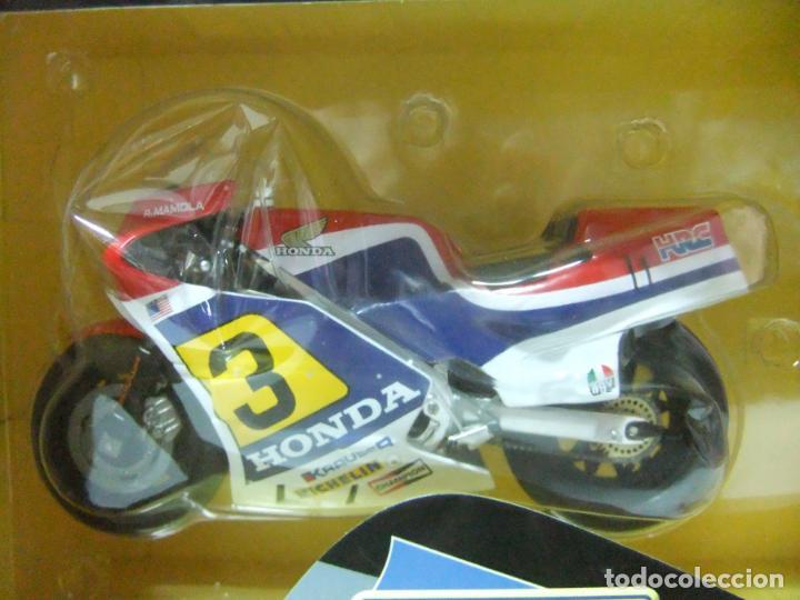 Motos a escala: HONDA NS500 NS 500 RANDY MAMOLA 1984 - ESCALA 1:12 ALTAYA MOTO MOTOCICLISMO DE COMPETICIÓN - Foto 2 - 133239902