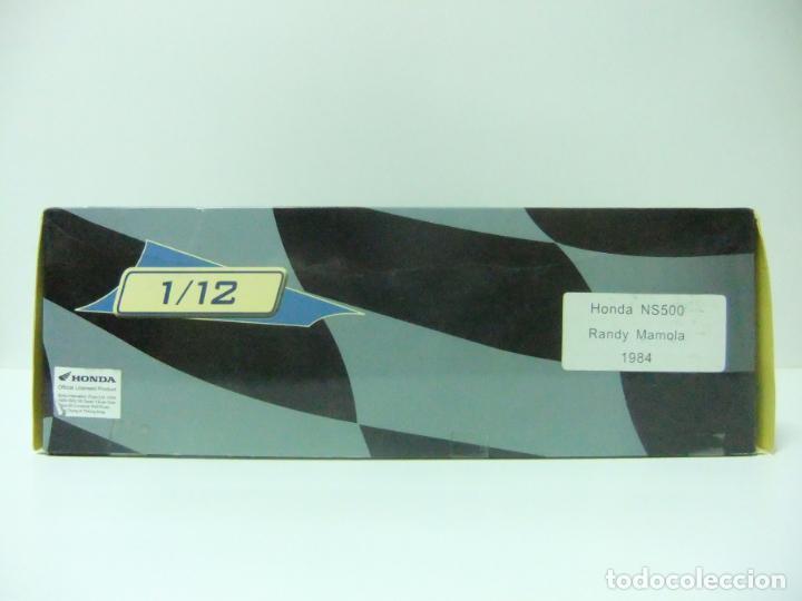Motos a escala: HONDA NS500 NS 500 RANDY MAMOLA 1984 - ESCALA 1:12 ALTAYA MOTO MOTOCICLISMO DE COMPETICIÓN - Foto 4 - 133239902