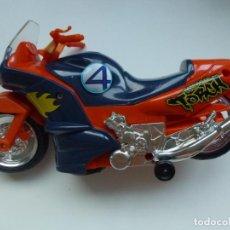 Motos a escala: MOTO HUMAN TORCH. ANTORCHA HUMANA.1997 MARVEL TOY BIZ.. Lote 133276894