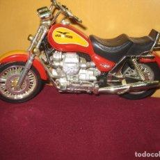 Motos a escala: MOTO GUZZI EV CALIFORNIA. 19 CM DE LARGOX 11 CM DE ALTO.. Lote 134003362