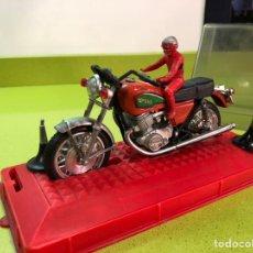 Motos a escala: MOTO YAMAHA ESCALA AÑOS 70. Lote 136651974