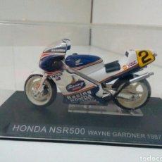 Motos a escala: HONDA NSR 500 WAYNE GARDNER 1987. Lote 136842264