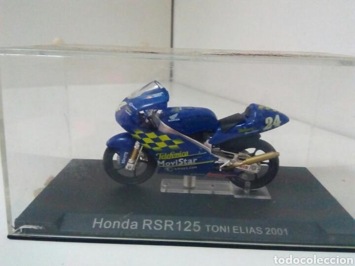 HONDA RSR 125 TONI ELIAS 2001 (Juguetes - Motos a Escala)