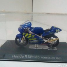 Motos a escala: HONDA RSR 125 TONI ELIAS 2001. Lote 136843342