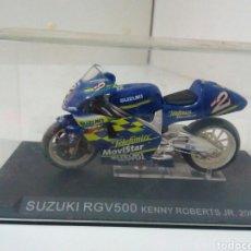 Motos a escala: SUZUKI RGV 500 KENNY ROBERTS JR. Lote 136844461