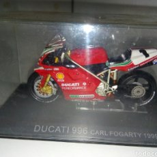 Motos a escala: DUCATI 996 CARL FOGARTY 1999. Lote 136844812