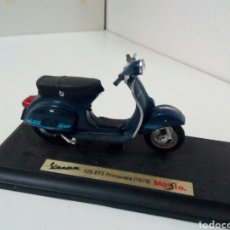 Motos a escala: MOTO VESPA PRIMAVERA PK 125 CON PEANA. Lote 136848893