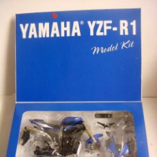 Motos a escala: MOTO MODEL KIT YAMAHA YZF-R 1 ESCALA 1'12 (#). Lote 137237630