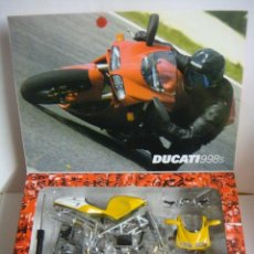 Motos a escala: MOTO MODEL KIT DUCATI 998 S ESCALA 1'12 (#). Lote 137238146
