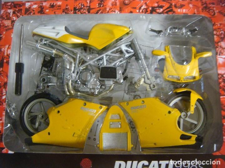 Motos a escala: MOTO MODEL KIT DUCATI 998 S ESCALA 1'12 (#) - Foto 3 - 137238146