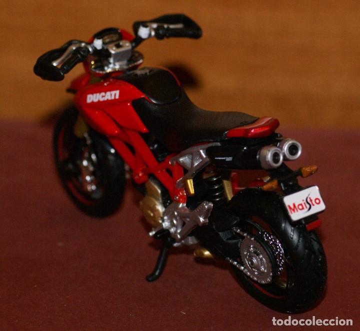 Motos a escala: MOTO DUCATI ESCALA 1:18 DE MAISTO EN SU BLISTER - Foto 3 - 139523590