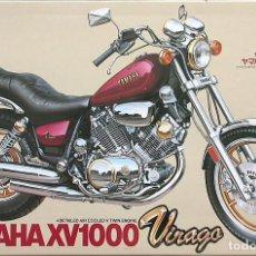 Motos a escala: MAQUETA TAMIYA 1/12 YAMAHA XV1000 VIRAGO #44 (14044). Lote 139678602