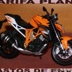 Motos a escala: MOTO KTM 1290 SUPER DUKE R ESCALA 1:12 DE MAISTO EN SU BLISTER. Lote 140413538