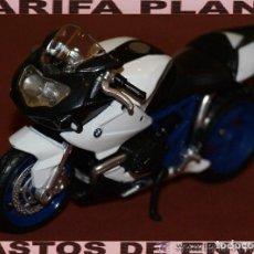 Motos a escala: MOTO BMW ESCALA 1:18 DE MAISTO EN SU BLISTER. Lote 140414342
