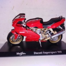 Motos a escala: MOTO A ESCALA MAISTO CON PEANA DUCATI SUPERSPORT 900. Lote 140689662