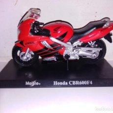 Motos a escala: MOTO A ESCALA MAISTO CON PEANA HONDA CBR 600 F4. Lote 140690770