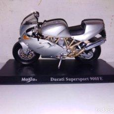 Motos a escala: MOTO A ESCALA MAISTO CON PEANA DUCATI SUPERSPORT 900 FE. Lote 140690934