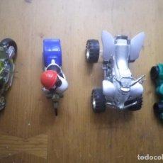 Motos a escala: 4 MOTOS ESPECIALES VER FOTOS. Lote 140855210