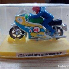 Motos a escala: MOTO GUZZI GOODYEAR - GUISVAL. Lote 141929866