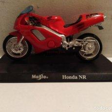 Motos a escala: MOTO A ESCALA MAISTO CON PEANA HONDA NR . Lote 142650246