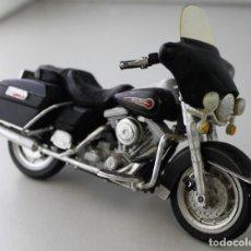 Motos a escala: MOTO HARLEY DAVIDSON ESCALA 1.18. Lote 143662926