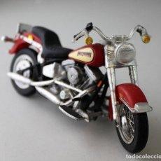 Motos a escala: MOTO HARLEY DAVIDSON ESCALA 1.18. Lote 143662950