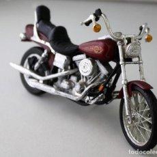 Motos a escala: MOTO HARLEY DAVIDSON ESCALA 1.18. Lote 143662974