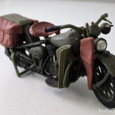 Motos a escala: MOTO HARLEY DAVIDSON MILITAR ESCALA 1.18. Lote 143662990