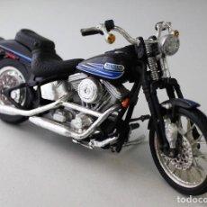 Motos a escala: MOTO HARLEY DAVIDSON ESCALA 1.18. Lote 143663038