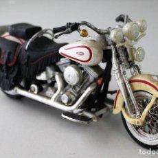 Motos a escala: MOTO HARLEY DAVIDSON ESCALA 1.18. Lote 143663050